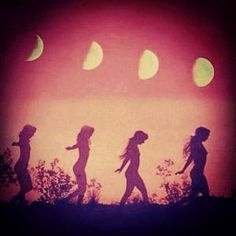 Wild Woman Sisterhood Women change their moods with the Moon.... Dance with roots and blood and tides. Women sing songs that only the Soul can hear... and cry in a language long forgotten. Women hold ...