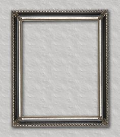 Black with Silver Readymade frame ready for your favorite family portrait, art or mirror.
