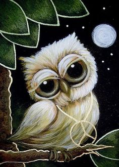 cute owl art!