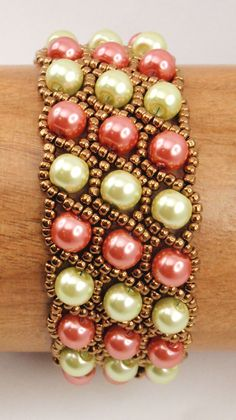 Instructions for Grand Duchess Bracelet Beading by njdesigns1
