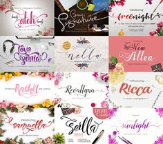 Fonts for use with Silhouette CAMEO