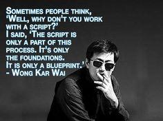 Film Director Quotes - Wong Kar Wai - Movie Director Quotes #wongkarwai #wkw