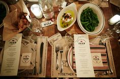 FEED + West Elm Supper at The Smile | Front + Main Blog #westelm