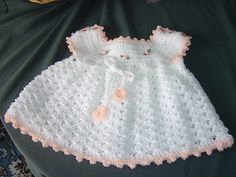 Free Crochet Baby Dress Patterns | Recent Photos The Commons Getty Collection Galleries World Map App ...