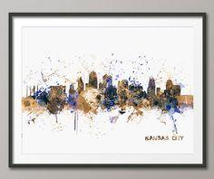Hey, I found this really awesome Etsy listing at https://www.etsy.com/listing/181112414/kansas-city-skyline-art-print-1021