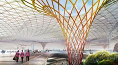 fernando romero on the process behind the winning airport design and his ongoing collaboration with norman foster. Norman Foster, Classical Architecture, Landscape Architecture, Architecture Design, Foster Architecture, Architecture Diagrams, Architecture Portfolio, Futuristic Architecture, Sustainable Architecture