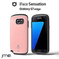 Galaxy S7 Edge SC-02H/SCV33 ケース iFace 正規品 Sensation ピンク samsung ギャラクシー s7 エッジ センセーション docomo au softbank スマホ カバー スマホケース スマートフォン