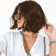 Short hair is more than a trend. It's practically a way of life! Here are the 30 Best Short Hairstyles & Haircuts – trends, 35 Hottest Easy Short Hair Trends in Every Color for 2019 Short Hair Trends, Short Hair Styles Easy, Short Hair Cuts, Curly Hair Styles, Pixie Cuts, Curly Lob, Short Brunette Hair Cuts, Short Brunette Hairstyles, Hairstyle Short Hair