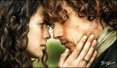 Jamie&Claire #jamiefraser #clairefraser #jamieandclaire #samheughan…