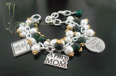 Army Mom Charm Bracelet by CreationsbyAccident on Etsy, $23.00