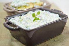 Tzatziki, Potato Salad, Mashed Potatoes, Food And Drink, Pudding, Ethnic Recipes, Desserts, Whipped Potatoes, Tailgate Desserts