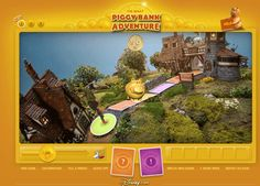 The-Great-Piggy-Bank-Adventure This digital version of the Disney theme park attraction of the same name challenges players online to define their dreams and realize them through smart investing, saving, and decision-making. Literacy Games, Learning Games, Classroom Games, Teaching Money, Teaching Math, Games For Change, Math Measurement, Financial Literacy, Financial Planning