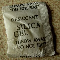 Great ideas for reusing those tiny 'silica gel' packets. #silicagel #home #reuse