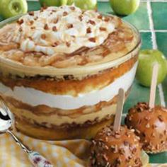 Colossal Caramel Apple Triffle