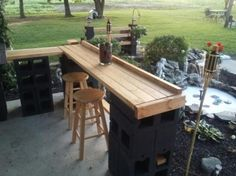 Diy outdoor bar Ideas Diy Patio Bar Outdoor Bar Elegant Patio Pub Of Outdoor Bar Inspirational Outside Patio Bar Diy Diy Patio Bar Diy Patio Bar Bar Diy Outdoor Patio Bar Plans - ixiqi Outdoor Patio Bar, Pallet Patio, Backyard Patio, Outdoor Decor, Diy Pallet, Outdoor Bars, Pallets Garden, Outdoor Ideas, Pallet Wood