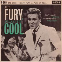 Billy Fury was Decca's most charted recording star of the 1960s and only three of the 45 rpm singles that he recorded with Decca failed to reach the chart, although he never actually got a #1.