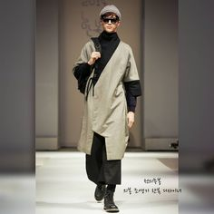 Korean hanbok designer Cho Young-ki.