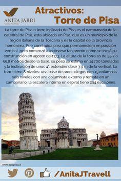 No podés perder la oportunidad de conocer la Torre de Pisa una vez estés en Italia, ¡#SalíYViajá con la aventura!