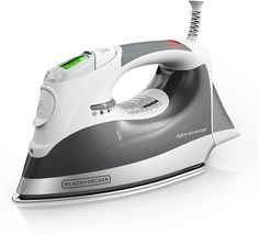 The Shark ultimate pro select uses its 1800 watts of power to heat up quickly and produce professional-quality steam. The premium stainless steel soleplate glides over fabrics to consistently remove even the toughest wrinkles. Steam Iron Reviews, Best Steam Iron, Best Iron, Cordless Iron, Best Amazon Gifts, Fabric Steamer, Great Wedding Gifts, Gift Wedding, Perfect Wedding