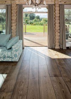 #Parquet de #madera con curvaturas, de la marca #Bolefloor · Pavimentos #Arquiservi
