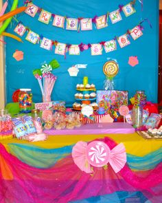 """Photo 1 of 20: Candyland / Birthday """"Krystin's SWEET Adventure in Candyland"""" 