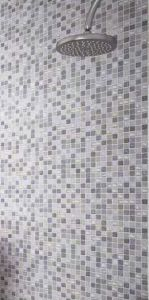 Sundance is a glass mosaic tile that incorporates a number of hues per mosaic sheet. It is made up from a number of textured finishes to really reflect light and add an extra dimension once applied. http://www.waxmanceramics.co.uk/blog/news/pearlescent-perfection/