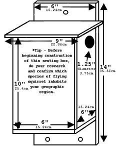 kestrel nest schematic and plans | diy | pinterest | kestrel