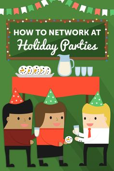 Check out these tips that can help you strike up a conversation about your invention with various individuals at your next holiday party! #HolidayPartyBlog