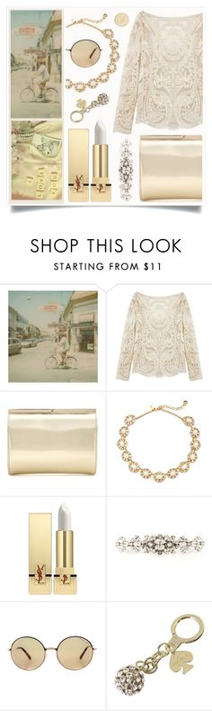 """Get Away From Problems"" by racanoki ❤ liked on Polyvore featuring Polaroid, Jimmy Choo, Yves Saint Laurent, Dolce&Gabbana, Michael Kors, Kate Spade, Kiehl's and RaCaNoKi"