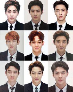 Tao Exo, Exo Chen, Exo Chanyeol, Kyungsoo, Exo Group Photo, Exo Fanart, Exo Stickers, Exo Korea, Exo 12