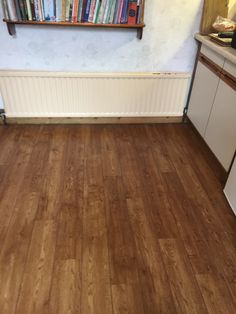 Polyflor Camaro Vintage Timber with a strip to give a ship's deck effect Camaro Flooring, Wood Effect Tiles, Luxury Vinyl Tile Flooring, Amtico, House Restaurant, New Kitchen, Building A House, Hardwood Floors, New Homes