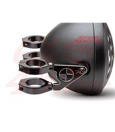 """Luxurious Headlight Brackets """"Beemer"""" 42/43mm"""
