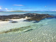the shallows at Eoligarry Beach, Isle of Barra Scotland People, Inverness Shire, Land Of The Brave, Isle Of Harris, Outer Hebrides, Scottish Islands, England And Scotland, White Sand Beach, Homeland