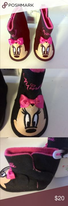 Minnie mouse booties These are brand-new Mini Mouse booties Disney Shoes Boots