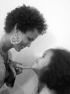 Nicole Ari Parker and her daughter Sophie