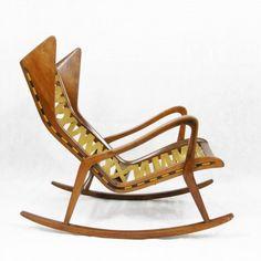 Gio Ponti. The best. KAGADATO selection. **************************************Rocking Chair by Gio Ponti
