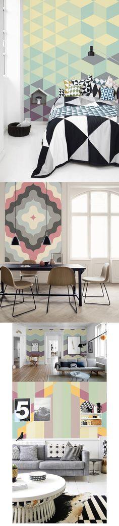 Lekkie pastele ||  Rozbielony, delikatny róż, niebieski, fiolet, biel, szary to kolory, które uspokoją każde wnętrze. Jeśli lubisz sielską, lekką atmosferę spodoba Ci się kolekcja pastelowych tapet firmy Pixer  http://www.eksmagazyn.pl/design/w-praktyce/lekkie-pastele/