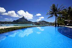 Le Meridien Bora Bora-Infinity pool