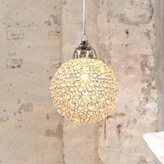 Deckenleuchte in Kugelform / nice round ceiling lamp  #impressionen #lampen