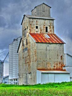 Old mill ...  Auburn Indiana