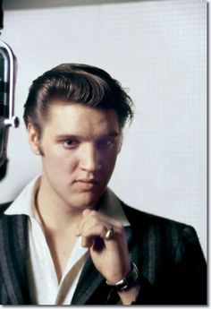 He looks so adorable. Elvis Presley - RCA Studio One, Memphis, Tennessee - July 2, 1956 photo Alfred Wertheimer