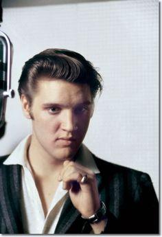 Elvis Presley - RCA Studio One, Memphis, Tennessee - July 2, 1956 photo Alfred Wertheimer