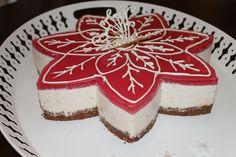 Christmascake (oma) cheesecake