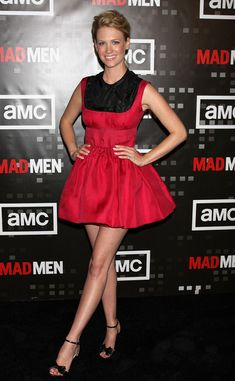 """January Jones Photos: AMC Hosts a Private Preview Screening of """"Mad Men Season 2"""""""