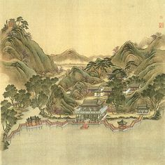 "The Yuanmingyuan were considered to be gardens, hence the term yuan. Each consisted of a number of complexes containing buildings of various types, artfully arranged in a ""natural"" setting that was carefully designed with lakes and streams, hills, bridges, pathways and pagodas. Unlike European palaces, where the building was the central focus, in a Chinese paradise the buildings are linked together. Altogether there were 650 individual structures. The total area was over 800 acres."