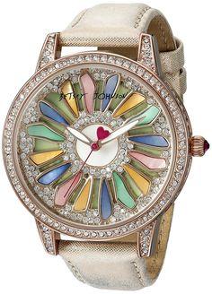 Stunning Betsey Johnson watch.