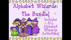 Alphabet Wizards Bundle! Enter for your chance to win.  Alphabet Wizards Bundle (152 pages) from Freeman's Frolicking Froggies on TeachersNotebook.com (Ends on on 8-13-2014)  To celebrate the opening of my shop, I am running a giveaway of my Alphabet Wizards Bundle.  Enter and follow my store as I am planning on adding a couple new products weekly and expanding my selection!  There will be one winner, so best of luck!