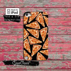 Pizza Pattern Pepperoni Funny Pop Art Black Tumblr by CaseOasis, $14.99
