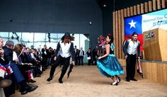 The parade of the Carabineros and the concert of Inti Illimani: #Expo 2015 celebrates the National Day of #Chile