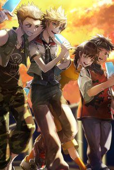 Kingdom Hearts Ii, Kindom Hearts, Sea Salt, Hearth, Pixar, Twilight, Organization, Manga, Games